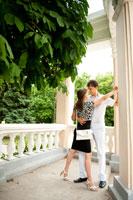 Романтическая фотосессия в Александровском парке Новочеркасска