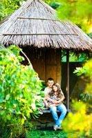 Романтическая фотосессия в парке Толоконникова в Новочеркасске