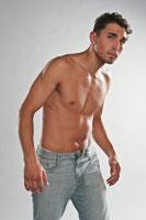 Студийные фотографии из фотосъемок для 2-х мужских портфолио