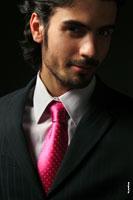 Фото портфолио мужчины — профессиональной модели
