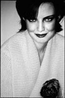 Пикториальный женский фотопортрет с фотопленки