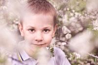 Детские фотопортреты на улице