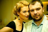 Парный жанровый фотопортрет женщины с мужчиной
