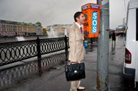 Жанровый портрет мужчины в образе беспомощной российской интеллигенции