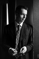 Фото портрет делового мужчины в костюме