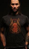 Студийный фотопортрет рок-музыканта Никиты группы NIKEL