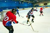 Фотографии хоккейной игры (фото хоккея с шайбой)