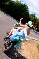 Свадебная прогулка на скутере с мотоэскортом по Королеву