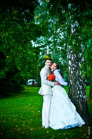 Свадебное утро, Измайловский ЗАГС, прогулка в усадьбе Кусково, ресторан