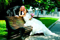 Свадьба в Москве: Грибоедовский ЗАГС, Екатерининский парк