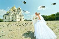 Свадебная прогулка в Новочеркасске №1: собор, Атаманский дворец, Александровский парк, сад Толоконникова