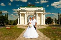 Свадебная прогулка в Новочеркасске №2: ЗАГС на Соцгороде, Триумфальная арка, собор, Атаманский дворец