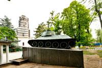 Фото танка в сквере Победы в память об освобождении Симферополя 13апреля 1944года частями 19-го танкового Краснознаменного Перекопского корпуса