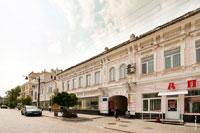 Старинный 2-х этажный дом№6 на улице Екатерининской в Симферополе
