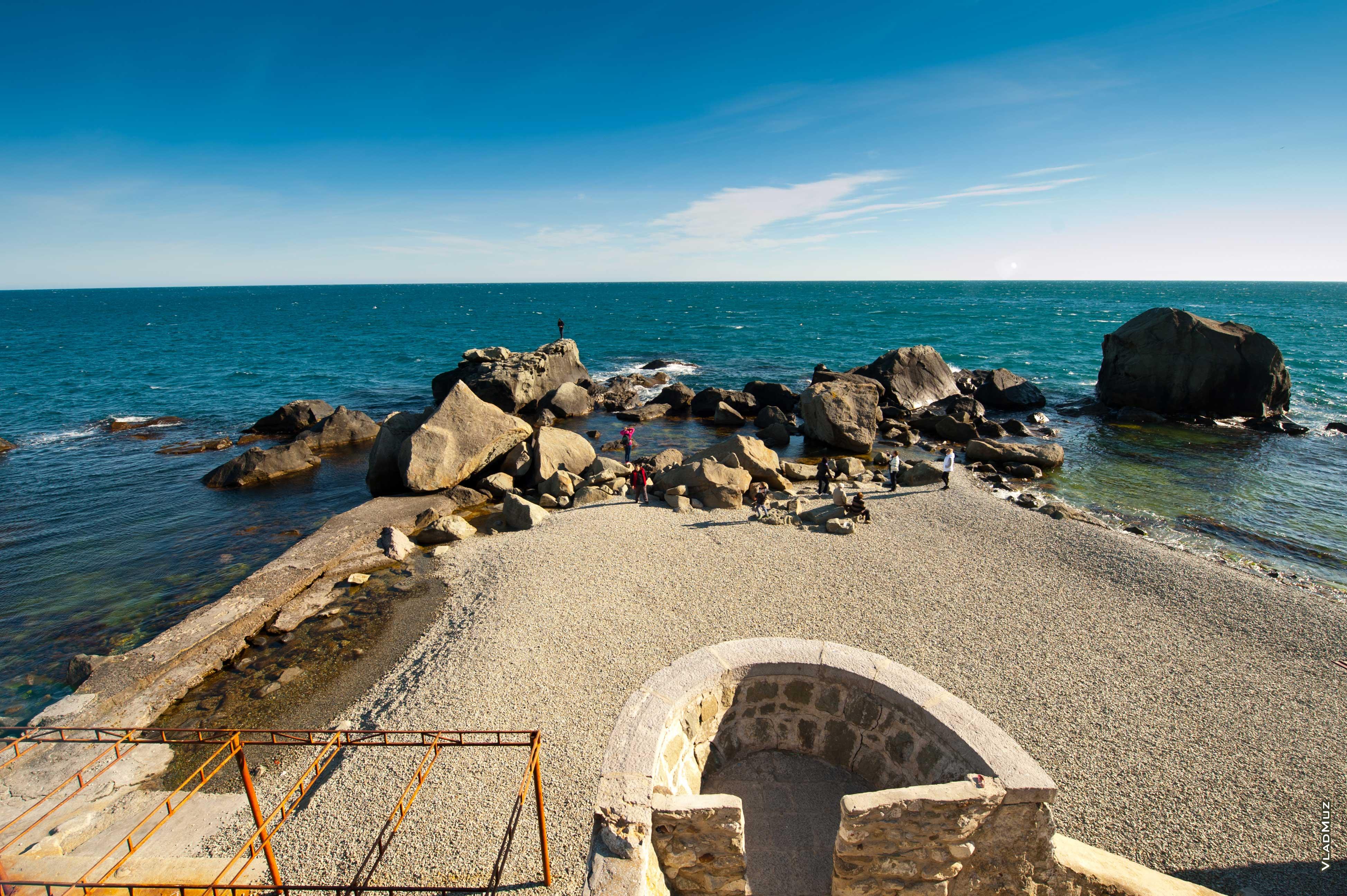 Крым пляжи алупка фото