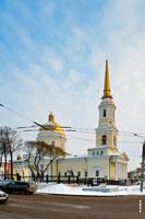Фото собора Александра Невского в Ижевске с HD разрешением 2345 на 3525 пикселей