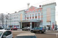 Фото здания Государственного Национального театра Удмуртской Республики в Ижевске