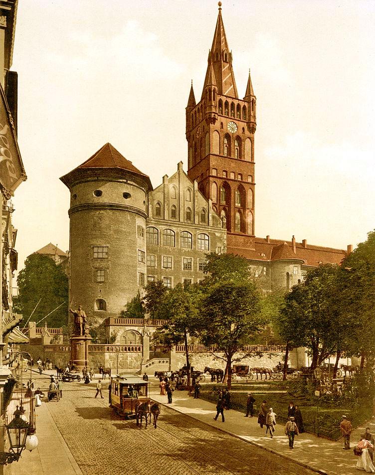 Так выглядел Королевский замок Кенигсберг в начале 20 века