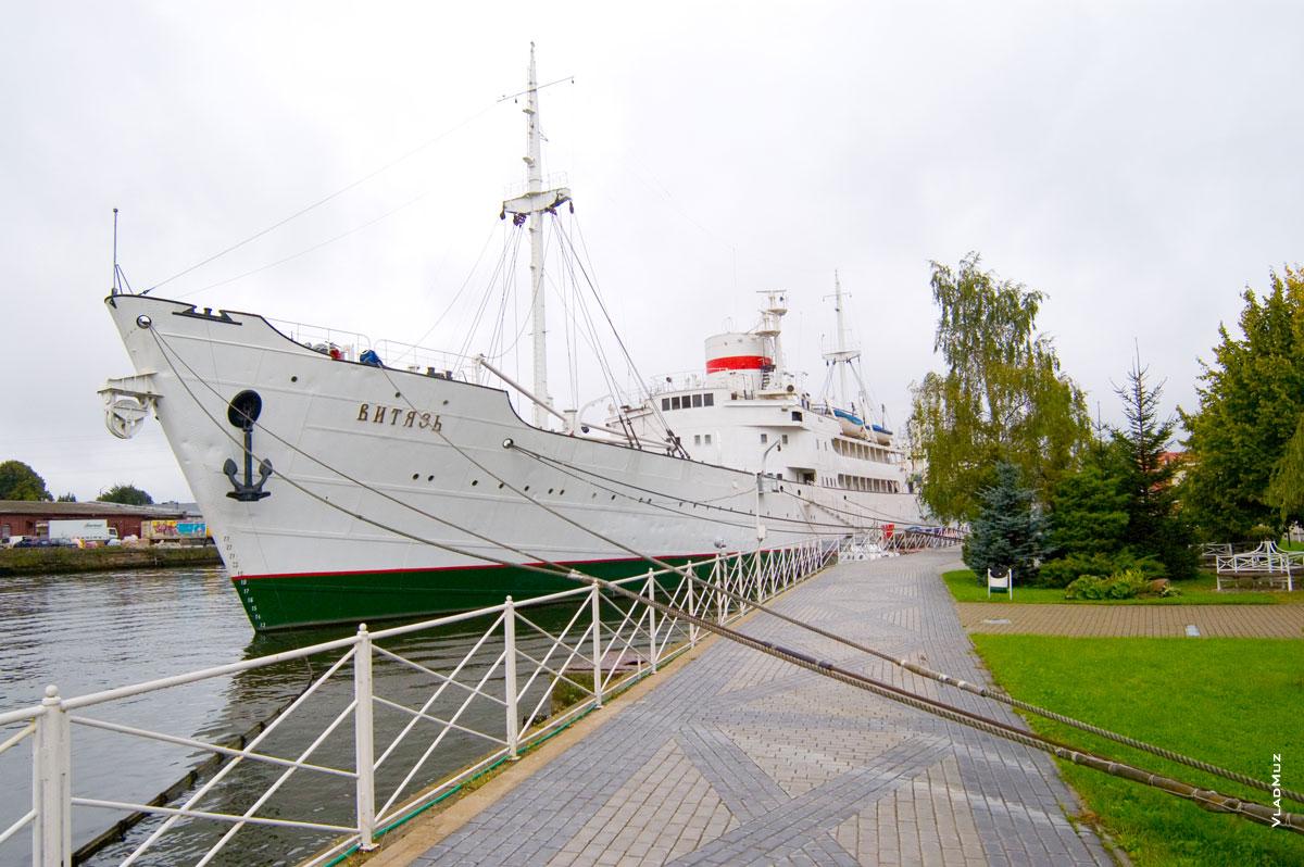 воздуха надежда калининградский корабль фото истории одинокой