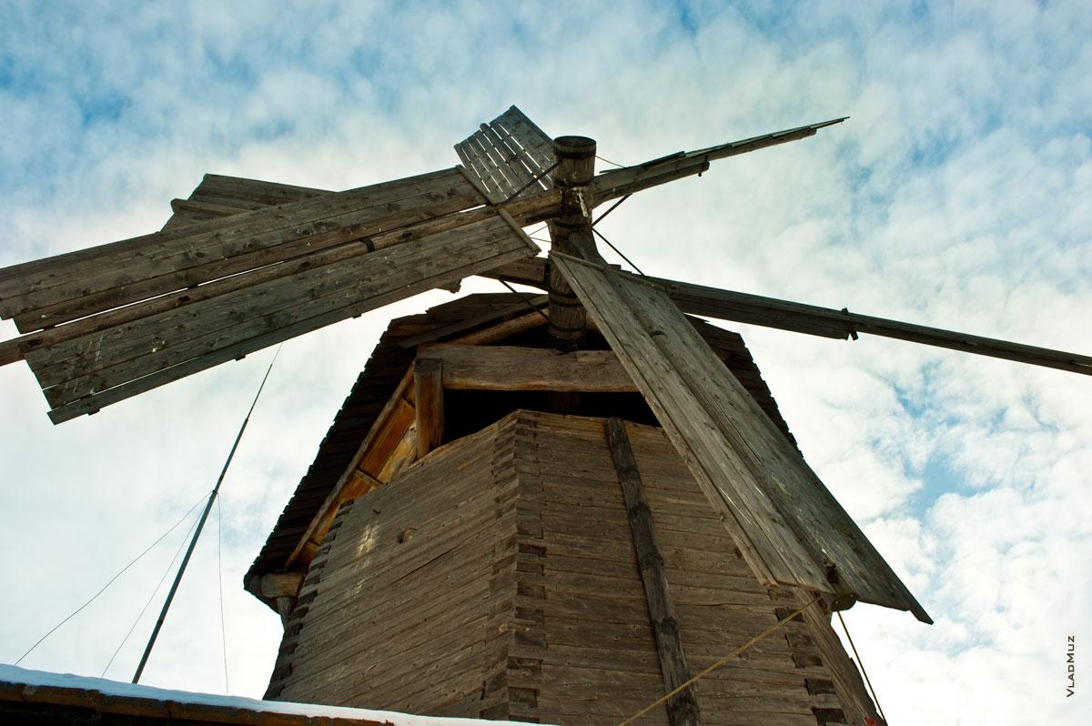 «Лудорвай». Ветряная мельница шатрового типа