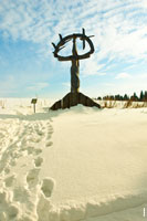Фото скульптуры «Инмумы», «Мать неба» в «Лудорвае»