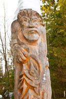 Фото скульптуры «Алангасар» в «Лудорвае» крупным планом