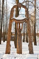 Фото скульптурной композиции «Семья»