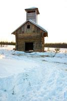 Фото собранной пожарной каланчи в «Лудорвае»
