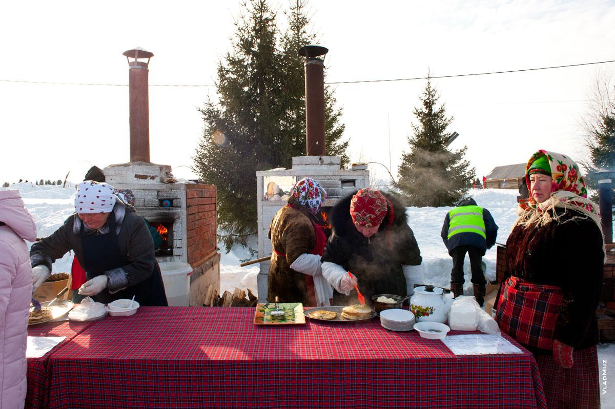 Масленица в музее-заповеднике «Лудорвай», Ижевск, Удмуртия