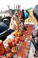 Фото деревянных изделий и сувениров в «Лудорвае» на Масленицу