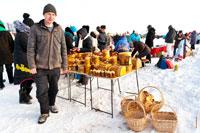 Фото плетенных и резных деревянных изделий и сувениров в «Лудорвае»