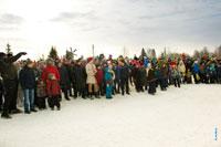Фото команды, которая будет штурмовать снежную крепость в «Лудорвае»