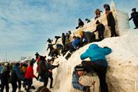 Идет новая атака и взятие снежной крепости в «Лудорвае»