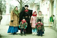 «Казаки в Новочеркасске». Современные фотографии