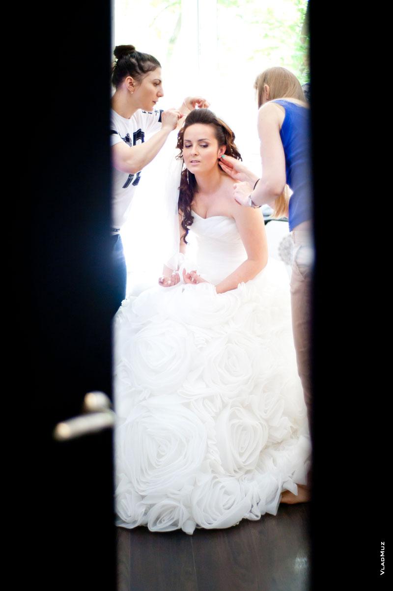 Подглядование за невест