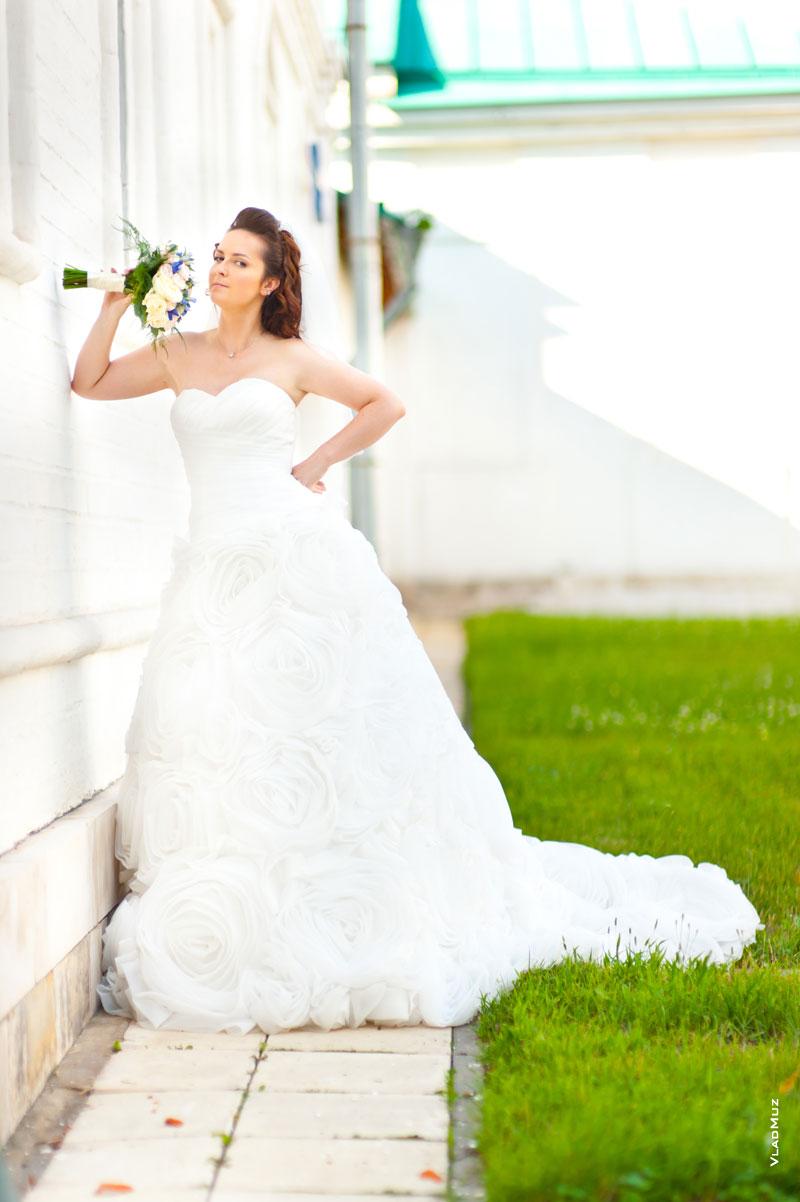 Невеста в полный рост фото