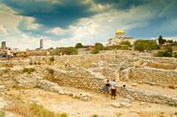 Древний город Херсонес Таврический в Севастополе